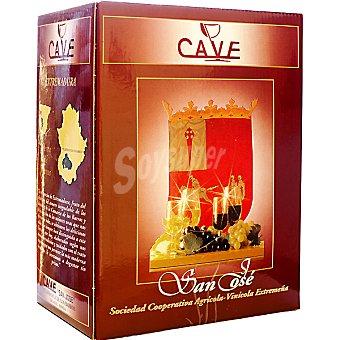 Cave Vino tinto de la tierra de Extremadura envase 5 l Envase 5 l