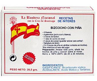SODAS BARRACHINA Gasificante para bollería 39,5 gramos