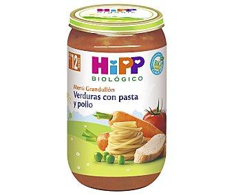 HiPP Biológico Tarrito de verduras con pasta y pollo ecológico a partir de 12 meses 250 gr