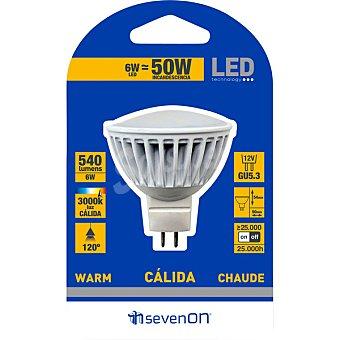 SEVENON Lámpara LED blanco cálido GU5.3 1 Unidad