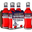 Bitter rojo sin alcohol Pack 4 botellines x 20 cl Mare Rosso