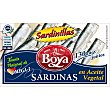Sardinas en aceite vegetal Lata 63 gr Boya