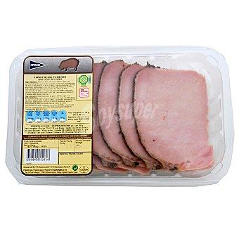 Hipercor Lomo cocido a la pimienta de cerdo en filetes peso aproximado Bandeja 300 g