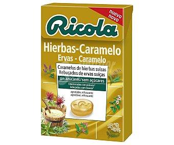 Ricola Caramelos de hierbas suizas, sin azúcar y edulcorados con stevia 50 g