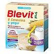 Papilla 8 Cereales con Yogur 600 g Blevit