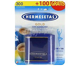 Hermesetas gold Edulcorante aspartamo Dosificador 300 uds