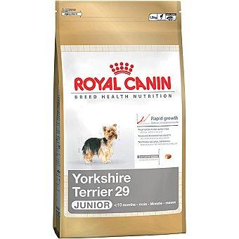 ROYAL CANIN JUNIOR Yorkshire Terrier Alimento completo para cachorros de raza yorkshire terrier Bolsa 1,5 kg