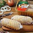 Muslo de pollo relleno bacon y queso 550.0 g. Coren