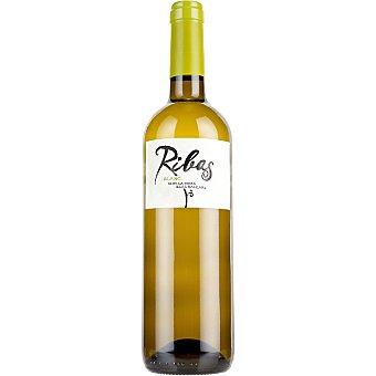 HEREUS DE RIBAS Blanc Vino blanco de la Tierra de Islas Baleares botella 75 cl Botella 75 cl