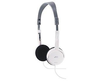 JVC HAL50 Auricular cerrado plegable, color blanco