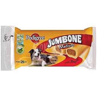 Pedigree Snack con carne para perros de raza media Jumbone Paquete de 200 g