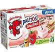 Palitos Crazy crema de queso de fresa con palitos de pan para mojar pack 3 tarrinas Caja 105 g La Vaca que ríe