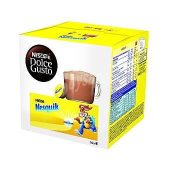 Dolce Gusto Nescafé Cacao en cápsulas Nesquik 16 unidades de 16 g