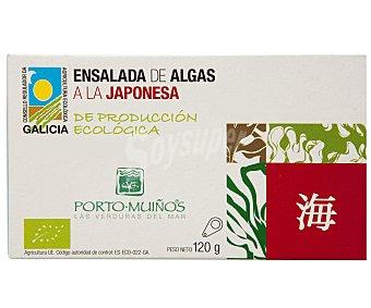 Porto Muiños Ensalada de algas a la japonesa de producción ecológica 90 gr
