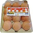 Huevos frescos clase L categoría A Estuche 12 unidades Timoteo