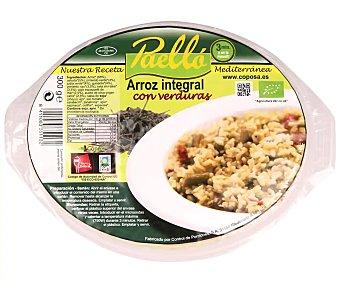 Coposa Arroz integral con verduras 300 g