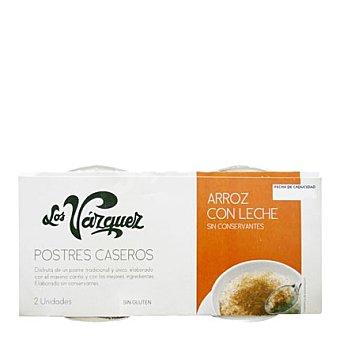 Los Vazquez Arroz con leche Pack 2x180 g