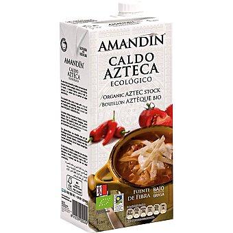 AMANDIN Caldo azteca ecológico envase 1 l Envase 1 l