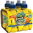 Refresco de tropical sin gas pack 4 botella 20 cl Pack 4 botella 20 cl Fruit Shoot