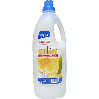 ALIN Detergente máquina líquido Marsella Botella 2 l