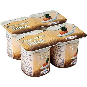 Celgan Yogur sabor piña pack 4 unds. 125 g Pack 4 unds. 125 g