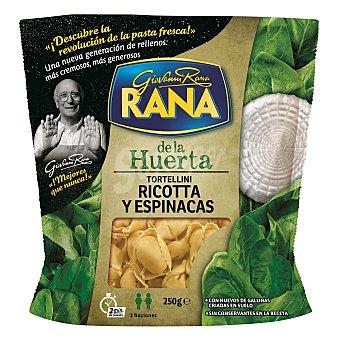 Rana Tortelloni ricotta espinacas Paquete 250 g