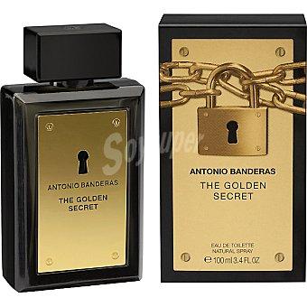 ANTONIO BANDERAS The Golden Secret eau de toilette natural masculina spray 100 ml Spray 100 ml