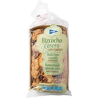 Hipercor Bizcocho casero con nueces Envase 240 g