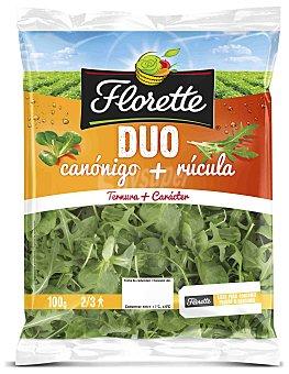 Florette Ensalada Duo Canónigos-Rúcula Bolsa de 100 g