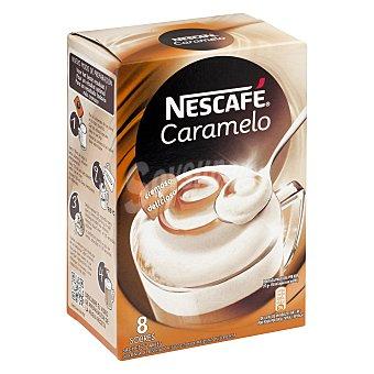 Nescafé Café caramelo soluble 8 sobres estuche 136 g 8 estuche 136 g