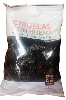 Casa Pons Ciruelas pasas con hueso Paquete 350 g