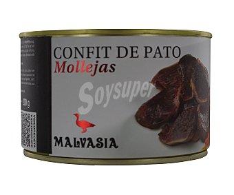 Malvasia Confit de pato, mollejas 200 g