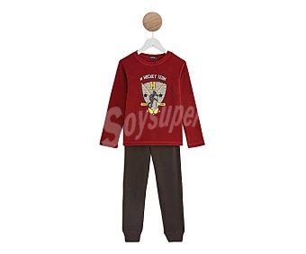 In Extenso Pijama polar para niño Oeko-tex, talla 12.