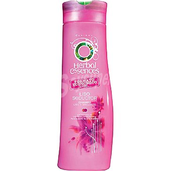 Herbal Essences Champú Liso Seductor con extractos de Lirio Rosa y Seda Asiática para cabello seco Frasco 500 ml