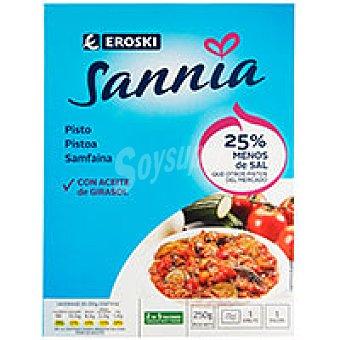 Eroski Sannia Pisto de verduras Bandeja 250 g