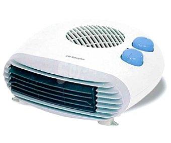 ORBEGOZO FH5009 Termoventilador horizontal, potencia max: 2000w, 2 niveles de calor, función ventilación, termostato