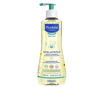 Mustela Aceite de baño y ducha con acción relipidizante, especial pieles atópicas Stelatopia 500 ml