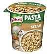 Pasta pot espirales con salsa de setas Vaso 70 gr Knorr