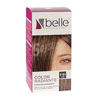 Belle Tinte rubio ceniza N.7.01 Professional Caja 1 unidata 220 g