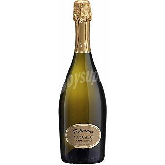 PELLERANO Vino blanco Moscato spumante dolce Italia Botella 75 cl