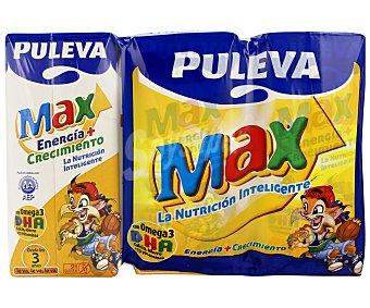 Puleva Max Leche de Crecimiento Pack 3x200 ml
