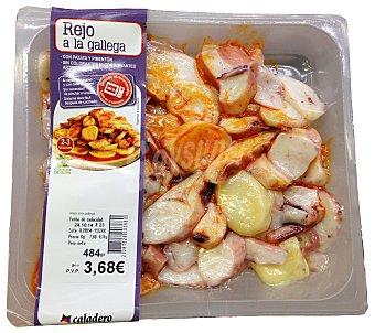 Caladero Rejo fresco cocido a la gallega Unidad 450 g peso aprox