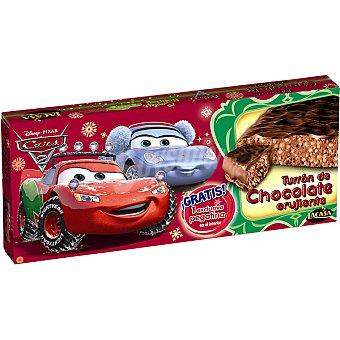 Lacasa Turrón de chocolate crujiente Disney Cars 2 tableta 200 g