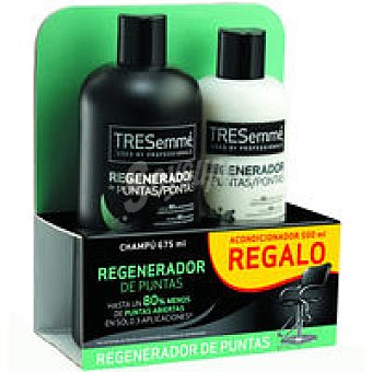 Tresemmé Champú regenerador Bote 675 ml + Acondicionador