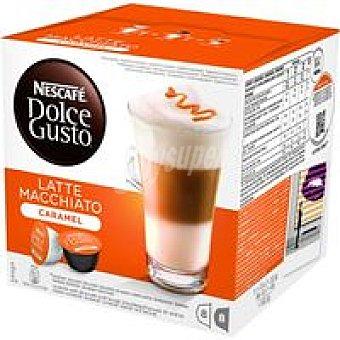 DOLCE GUSTO Nescafe espresso macchiato 16 cápsulas