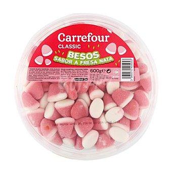 Carrefour Besos de fresa y nata 600 g