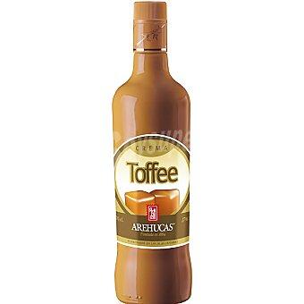 Arehucas Licor de crema de toffee Botella 70 cl