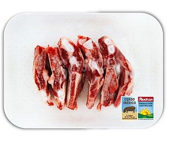 Auchan Producción Controlada Costillas de cerdo ibérico 400 Gramos