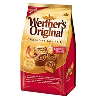 Werther's Original Bombones Chocolate Specialty mousse Bolsa 125 g