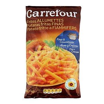 Carrefour Patatas congeladas extra finas Bolsa de 1 kg